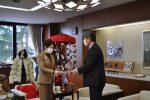 【新型コロナウィルス対策における緊急要請を吉村知事に行いました!】