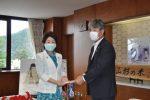 令和2年7月山形県豪雨災害義援金を贈呈しました。